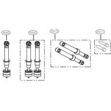 Амортизатор демпфер стиральной машины LG 383EER3001U