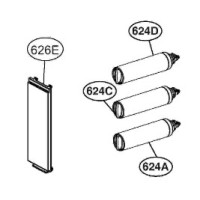 Воздушный фильтр холодильника LG GR-M317SGKR ADQ73214403