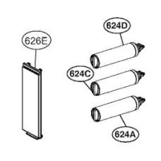 Воздушный фильтр холодильника LG GC-B237JMNV ADQ73853805