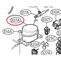 Компрессор холодильника LG GA-B419SMQL