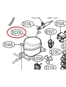 Компрессор холодильника LG GA-B509MVQM