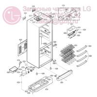 Запчасти холодильника LG GA-419UCA