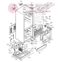 Запчасти холодильника LG GA-B379BEQA