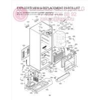 Запчасти холодильника LG GA-B379PCA