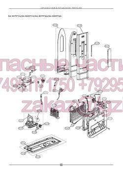 Запчасти холодильника LG GA-B379SLCA