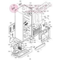 Запчасти холодильника LG GA-B399TGMR