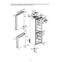 Запчасти холодильника LG GA-B409SECA