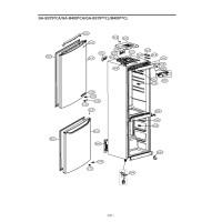 Запчасти холодильника LG GA-B409SLCA