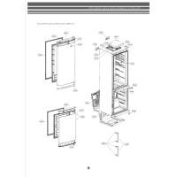 Запчасти холодильника LG GA-B429BECA
