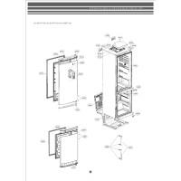 Запчасти холодильника LG GA-B429BLQA