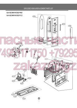 Запчасти холодильника LG GA-B429SQCZ