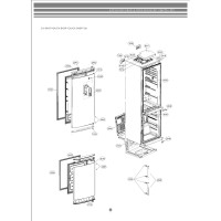 Запчасти холодильника LG GA-B439BLQA