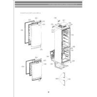 Запчасти холодильника LG GA-B439BVCA