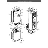 Запчасти холодильника LG GA-B439TGMR