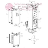 Запчасти холодильника LG GA-B489BVQA