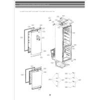 Запчасти холодильника LG GA-B489BVTP
