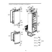 Запчасти холодильника LG GA-B489ZECL