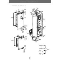 Запчасти холодильника LG GA-B489ZVVM