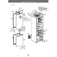 Запчасти холодильника LG GA-B499SBKZ