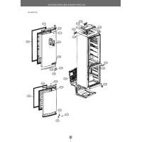Запчасти холодильника LG GA-B499SMQZ