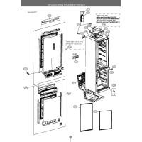 Запчасти холодильника LG GA-B499TGKZ