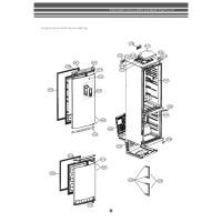 Запчасти холодильника LG GA-E489EAQA