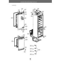 Запчасти холодильника LG GA-M549ZGQZ
