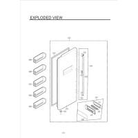 Запчасти холодильника LG GC-B207BVQA