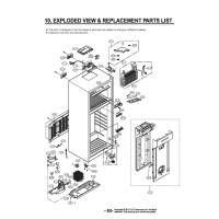 Запчасти холодильника LG GN-H432HMHZ