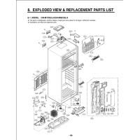 Запчасти холодильника LG GN-M702GAHW
