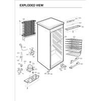 Запчасти холодильника LG GR-204SQA
