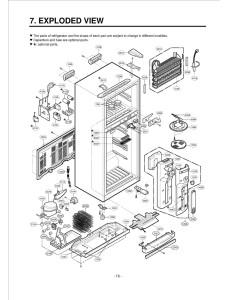 Запчасти холодильника LG GR-403SVQF