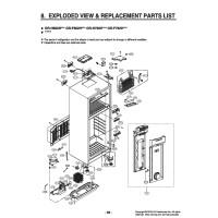 Запчасти холодильника LG GR-H802HEHZ