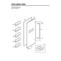 Запчасти холодильника LG GW-C207QEQA