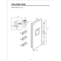 Запчасти холодильника LG GW-P227HLQA